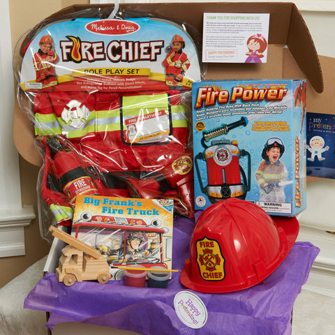Fire Fighter Pretend Play Package
