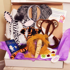 Jungle Animals Pretend Play Package