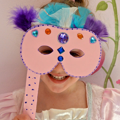 Princess Masquerade Mask DIY Pretend Play Project
