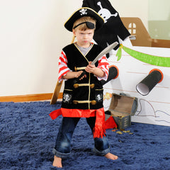 Pirate Adventure Costume Pretend Play Set