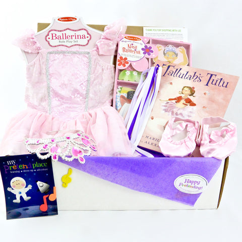 Ballerina Pretend Play Package