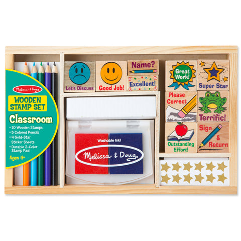 Teacher Classroom Stamp Set