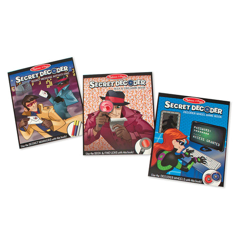 Spy Secret Decoder Deluxe Activity Set