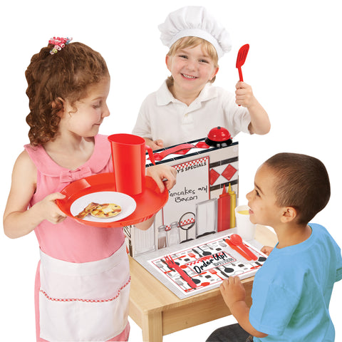 Order Up! Diner Pretend Play Set