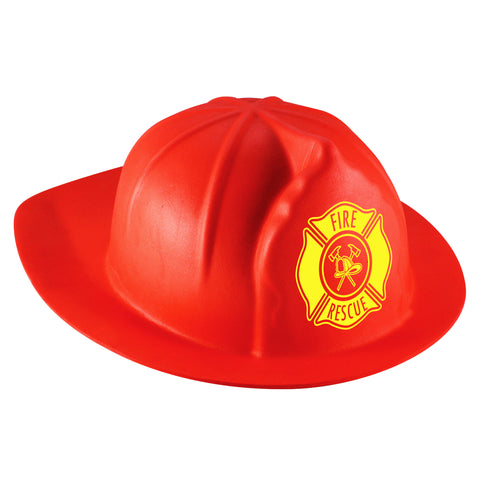 Foam Firefighter Red Helmet