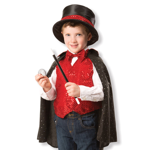 Magician Costume Pretend Play Set