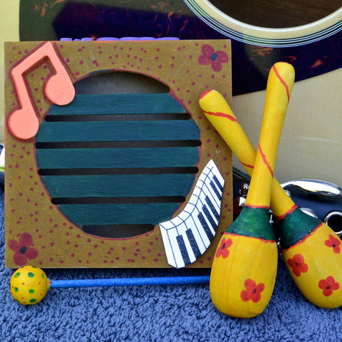 Maracas and Rhythm Board DIY Project