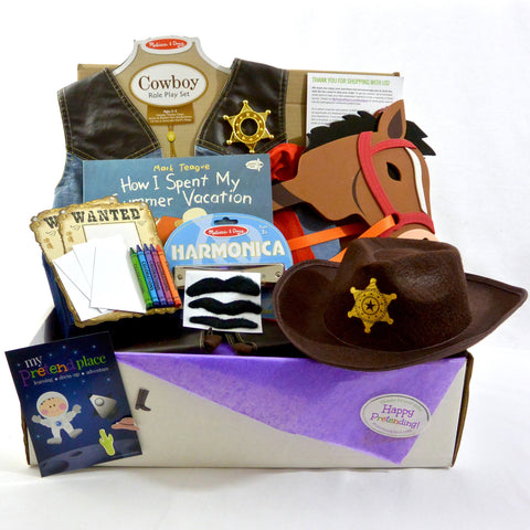 Cowboy Pretend Play Package