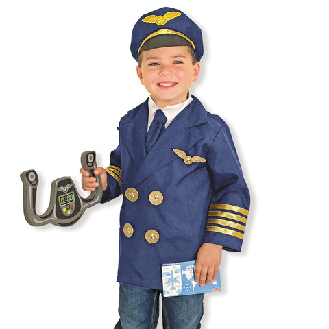 Pilot Costume Pretend Play Set
