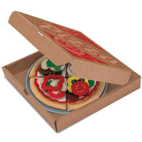 Felt Pizza Pretend Play Food
