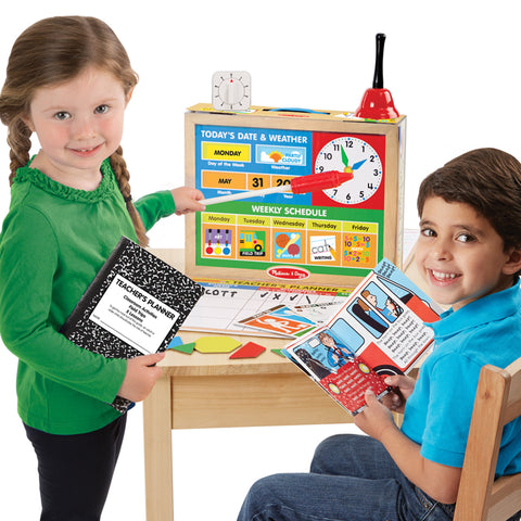 School Time! Classroom Pretend Play Set