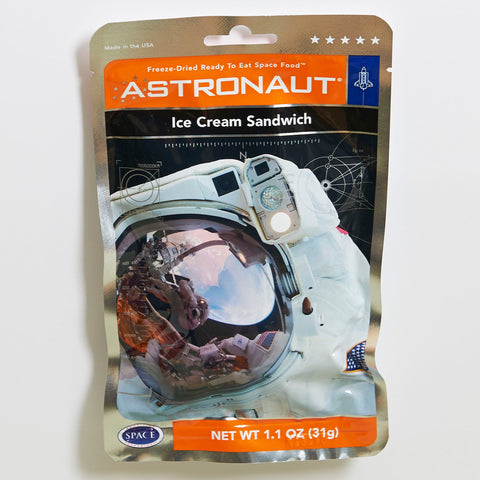 Astronaut Freeze Dried Ice Cream Sandwich