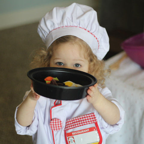 Chef Costume Pretend Play Set