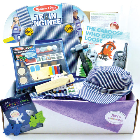 Train Engineer Pretend Play Package