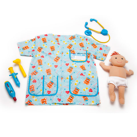 Pediatric Nurse Costume Pretend Play Set