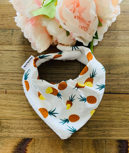 Pineapple Draped Dribble Bib - Harli Ma & Me