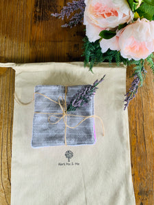 Grey Arrow Cloth Gift Bag