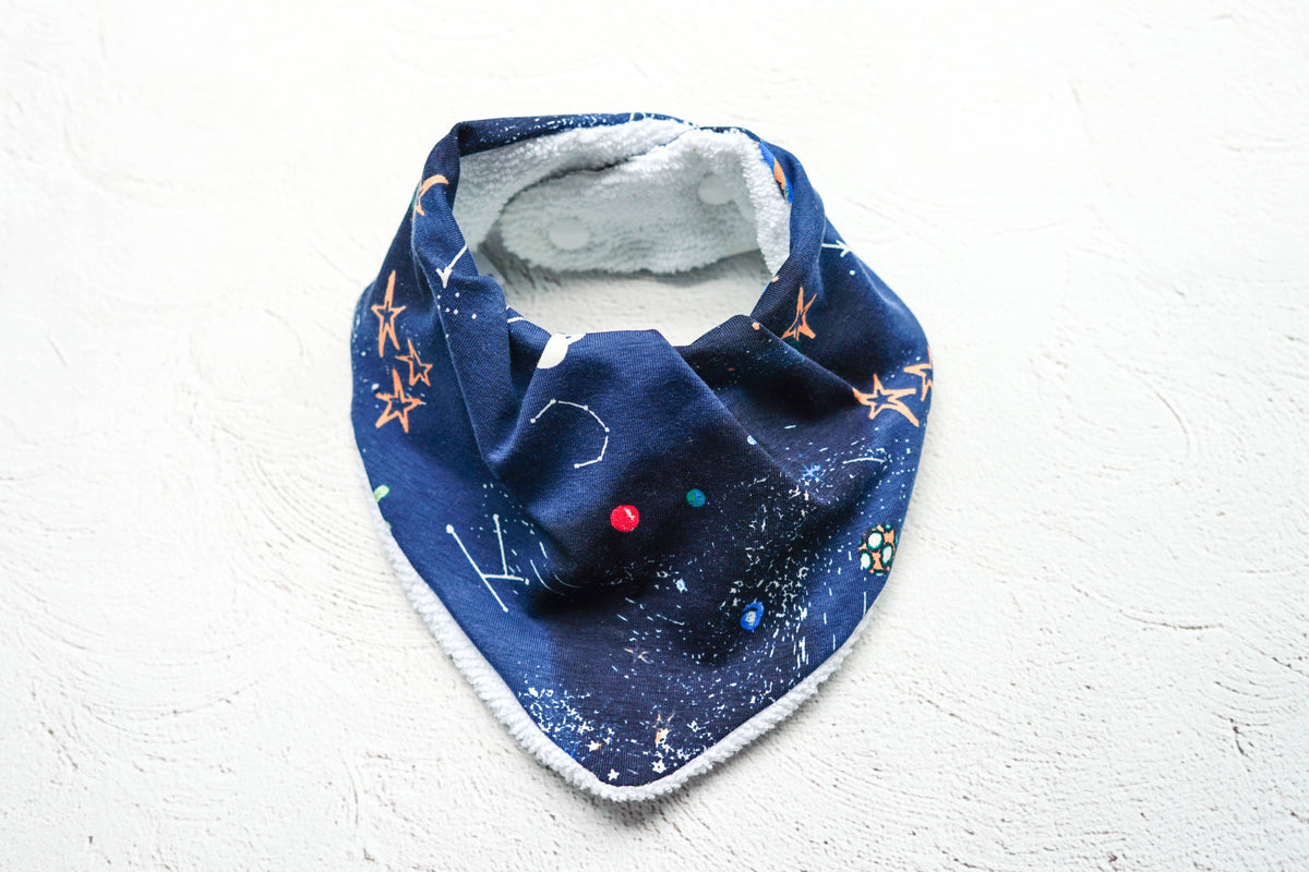 Space Draped Dribble Bib
