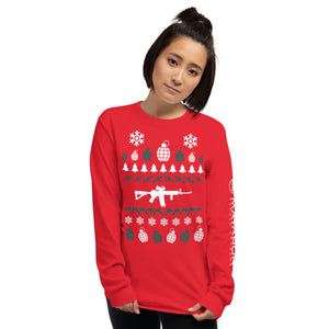 Long Sleeve Tactical Christmas T-Shirt