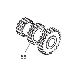 Cluster Gear with Bushings