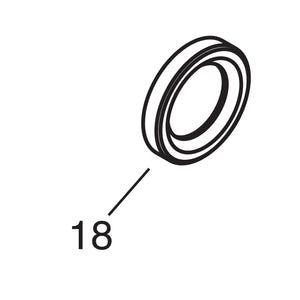 Front Drum Inner Seal - 1946-53 Models