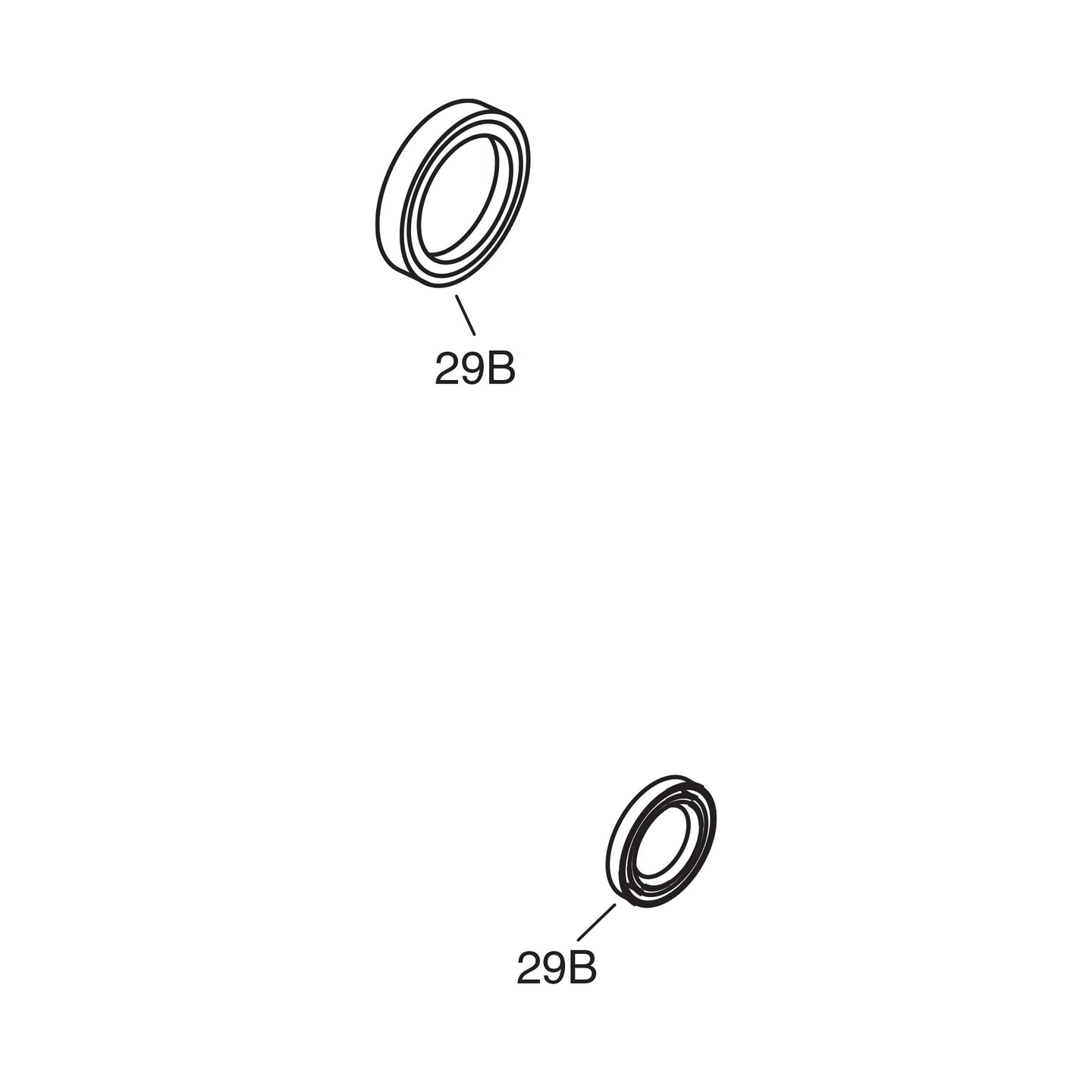 Front Drum Outer Seal - 1937-45 Models