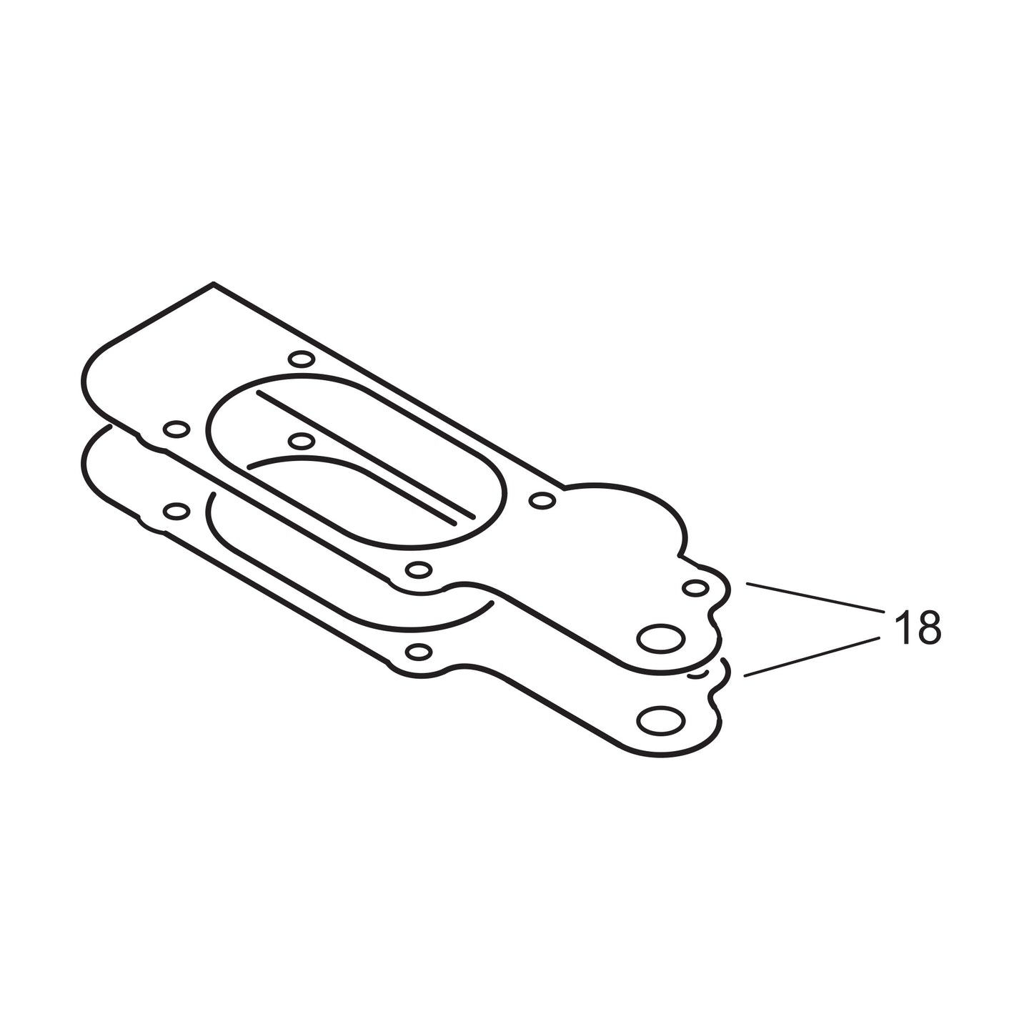 Lower Cover Gasket - .004