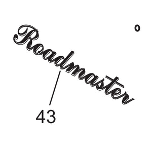 Lower Roadmaster Insignia