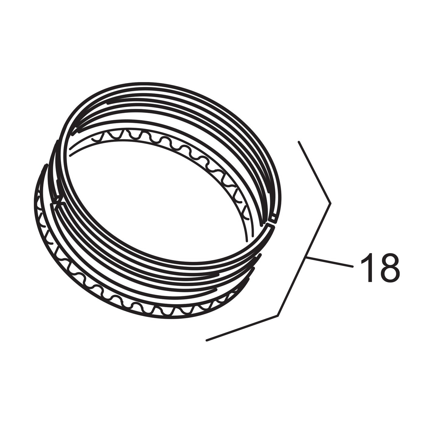 OEM Style Piston Ring Set - .010 Oversize