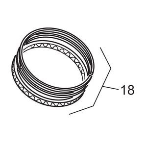OEM Style Piston Ring Set - .050 Oversize