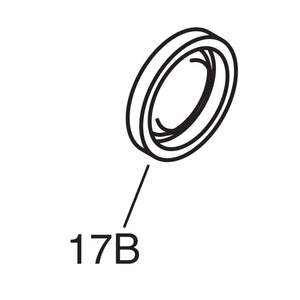 Rear Wheel Upgrade Seal - 1940-45 Models