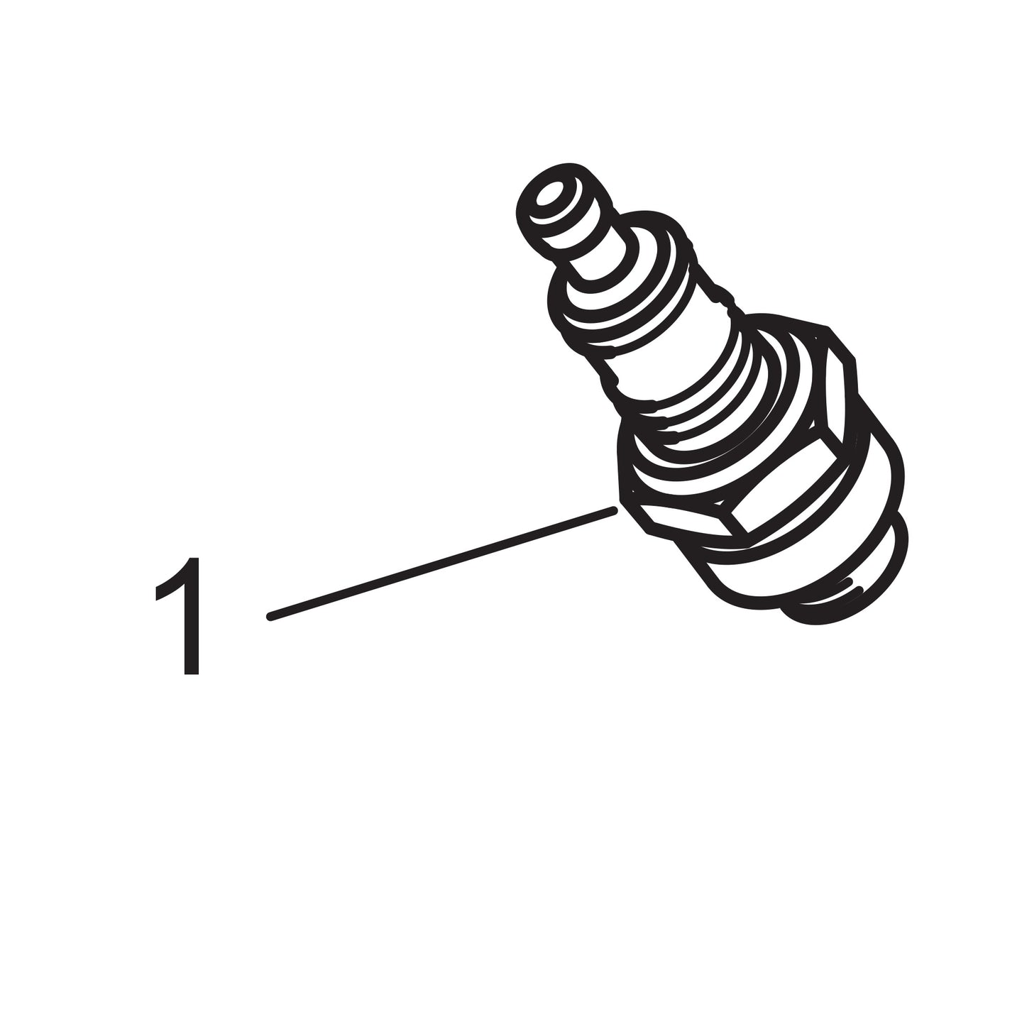 Spark Plug - Long Reach Autolite
