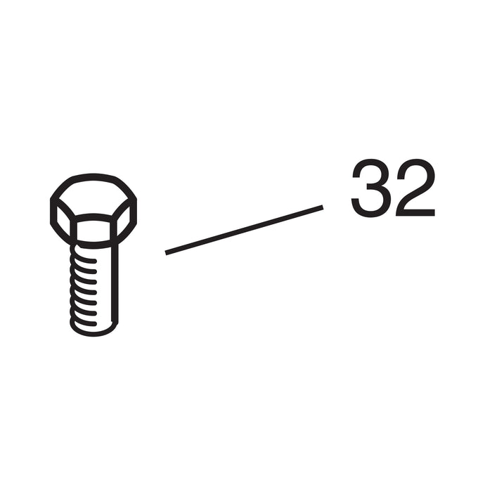 Stainless Steel Pinch Bolt - 1/4