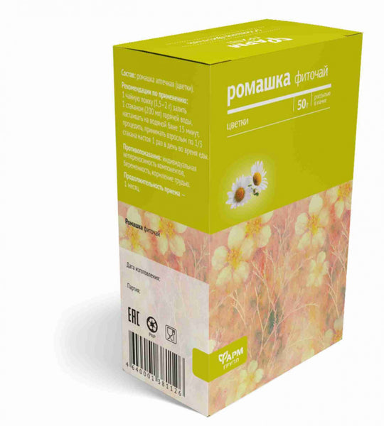 Camomile herbs and flowers 50 g