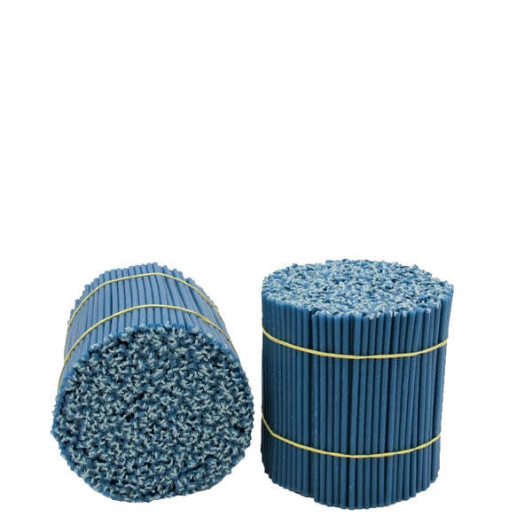 Diveevo Blue Church Beeswax candles 165 mm M120, 600 pcs
