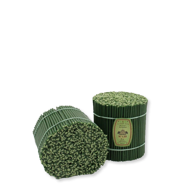 Diveevo Church beeswax Green candles  1 kg N120,, 300 pcs