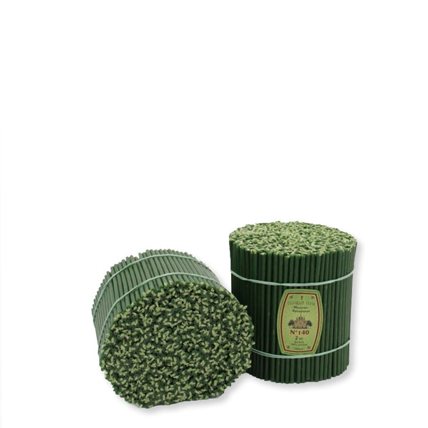 Diveevo Church beeswax candles Green 1 kg N140, 350 pcs