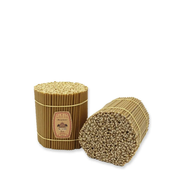 "Diveevo Beeswax Church Candles  ""Honey"" 1 kg N120, 300pcs"