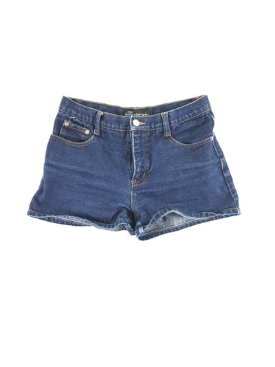 Dark Wash Denim Shorts, No boundaries (5)