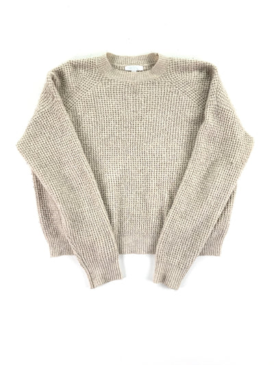 Long sleeve tan sweater, Abound (S)