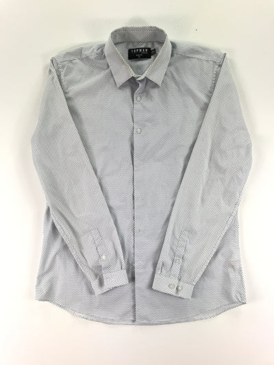 Button-down dress shirt, TOPMAN (XL)