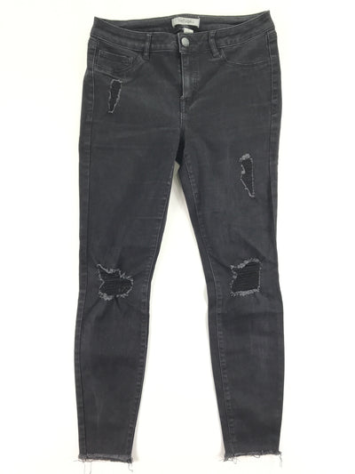 Black Distressed Jeans, Refuge (8)