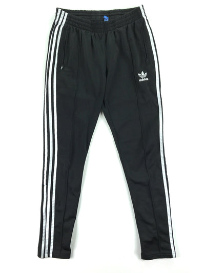Black 3 Stripe Pants, Adidas (M)