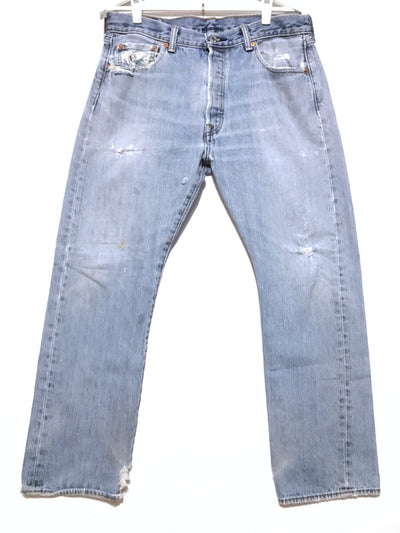 Light Wash Vintage Distressed Jeans, Levi's (35)