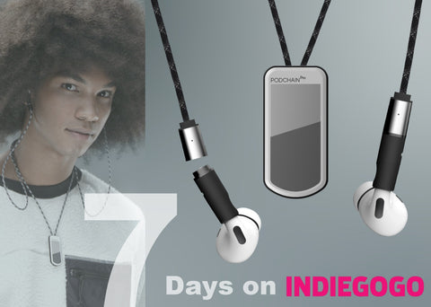 7 days to launch on IndieGogo