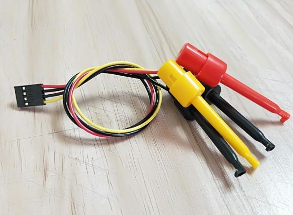 Minis 4-Pin Hook Clip Grabber Probe - Minis USB Pocket Oscilloscope