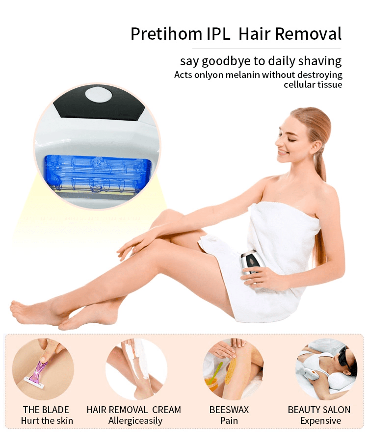 Mini IPL Epilator