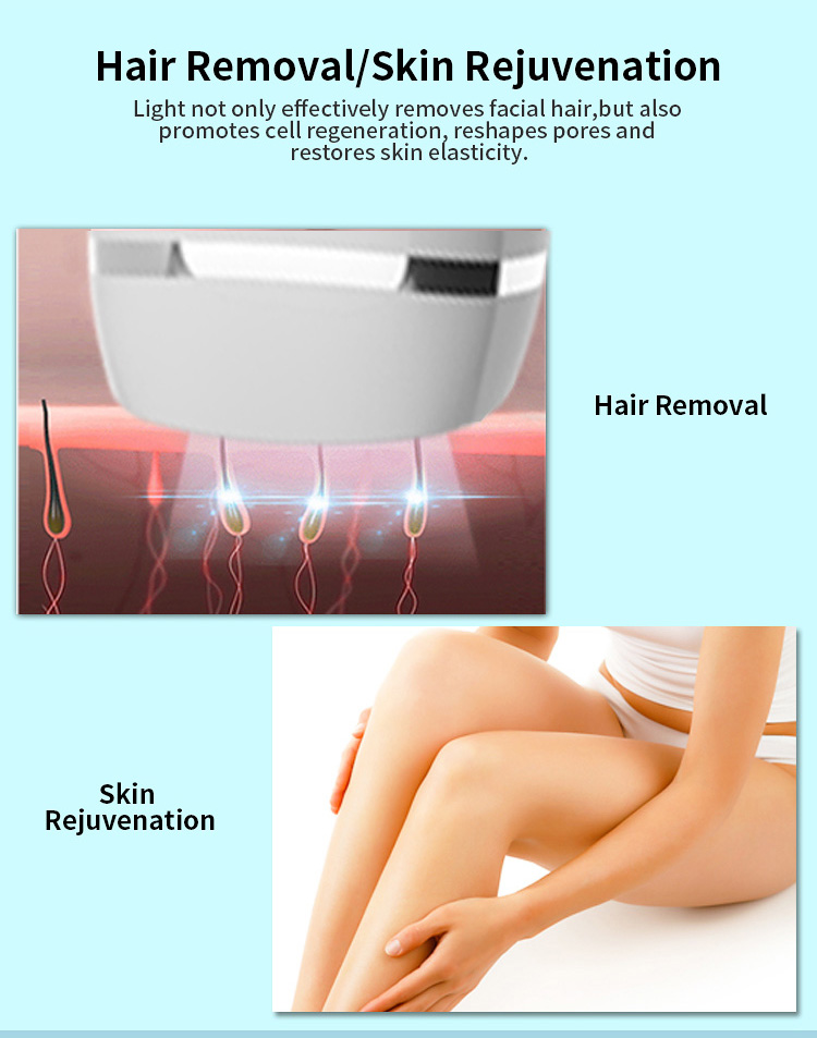 Advanced IPL Permanent Hair Remover