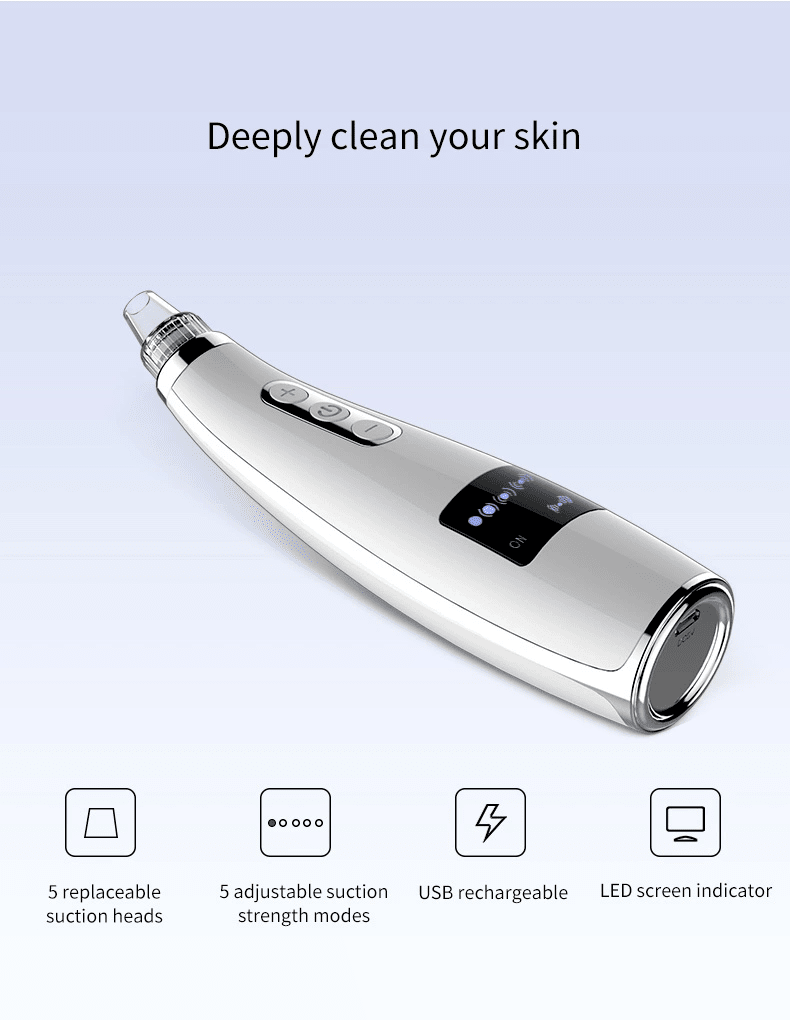 Rechargeable USB Blackhead Remover