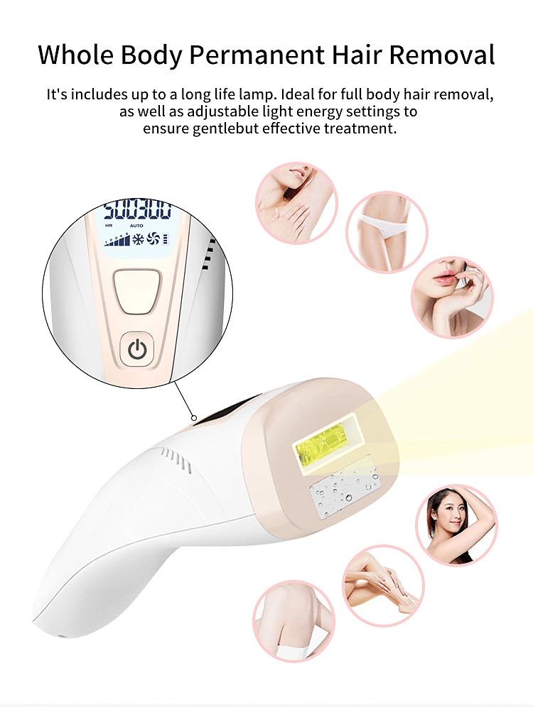 Painless IPL Hair Remover